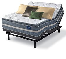 Serta Perfect Sleeper Luxury Hybrid Glenmoor Firm Pillow