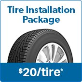 Sams's Club Tire Installation Package